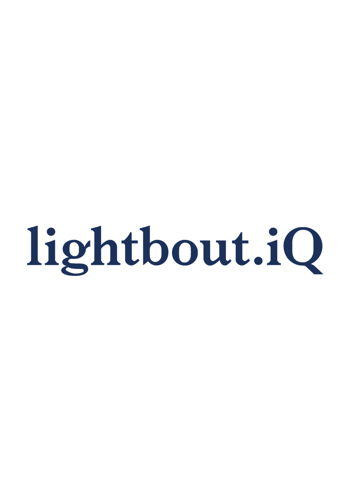 LightBoutIQ Logo Medium